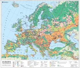 Azja Mapa Politycznakonturowa 150x210 Cm